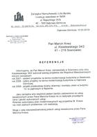 Referencja od firmy Zarządca Nieruchomości Lilia Barska