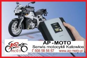 KOMPUTEROWA DIAGNOSTYKA MOTOCYKLA Ap-Moto - Ap-Moto - serwis motocykli Katowice Katowice