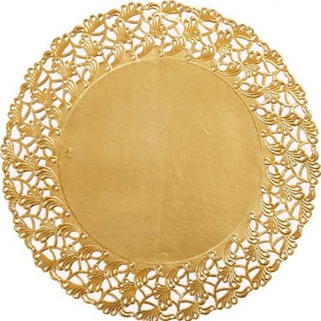 Serwetki Pod Ciastotalerze Złote Gadżety Dekoracyjne
