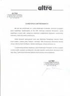 Referencja od firmy Biuro tłumaczeń ULTRA