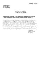 Referencja od firmy Laboratory Nantes