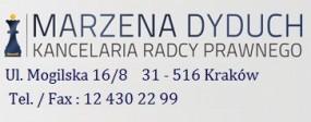 Rozwody - Kraków, Katowice, Warszawa, Kielce - Marzena Dyduch Kancelaria Radcy Prawnego Kraków