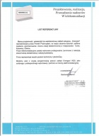 Referencja od firmy MONITEX S.C