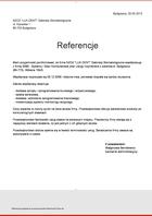 "Referencja od firmy NZOZ ""LUX-DENT"" Gabinety Stomatologiczne"