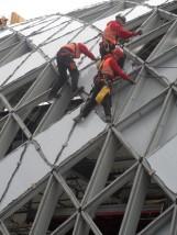 Montaż fasad, stolarki aluminiowej. - Ekosent Warszawa