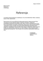 Referencja od firmy Serwis Przyczep