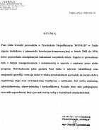 """Referencja od firmy Przedszkole Niepubliczne """"DONALD""""Grażyna Lewandowska ul. P.Skargi 9, 89 - 100 Nakło n/Not."""