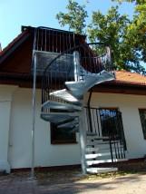 schody spiralne - Skład Fabryczny Porcelany Elektrotechnicznej - H. Kutyła Działki Suskowolskie