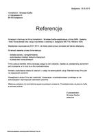 Referencja od firmy HomeAdmin - Mirosław Szefke