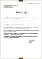 Referencja od firmy KAPA Usługi ogólnobudowlane Piotr Lipski