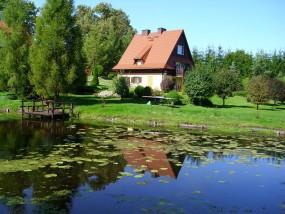 Domki nad jeziorem - Agrobarcie Barcie