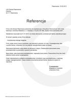 Referencja od firmy LKS Olimpia Pławniowice
