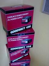 GoodWatt UltraSilent ATX 400W 450W 500W - Maniax Multimedia Sebastian Błaszczykiewicz Brzeziny