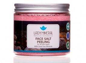 Peeling solny do twarzy Morze Martwe 250g - Morze Urody Warka