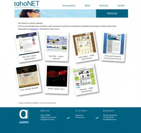 Strony internetowe - tahoNET Białystok