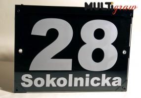 Tablica z numerem domu - Multigraw Tarnobrzeg