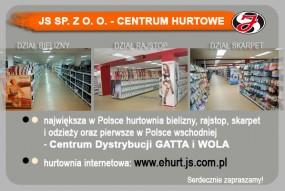 Sprzedaż hurtowa - JS Sp. z o. o. - Centrum Hurtowe Lublin