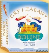 GRY I ZABAWY BIBLIJNE Pakiet 4xCD - rajdladzieci.pl Warszawa