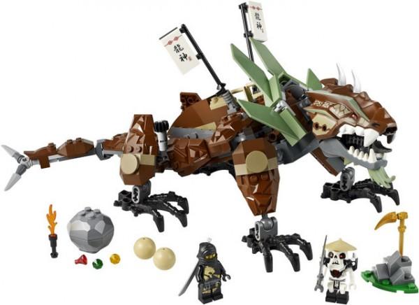 Klocki Lego Ninjago Star Wars Friends Obrona Smoka Ziemi 2509 Lego