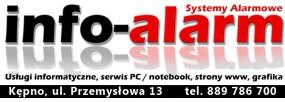 strony internetowe - info-alarm Piotr Kwapisz Kępno