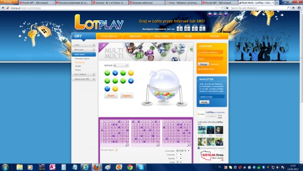 internet lotto
