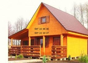 Budowa - Degat Domy z drewna Krzywin