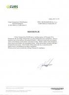 Referencja od firmy CURS Express