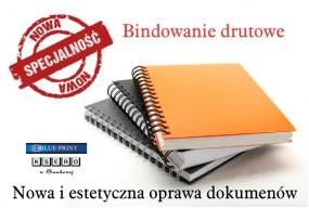 Bindowanie drutowe - BLUE PRINT Ksero w Bankowej Toruń