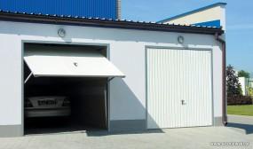 Bramy garażowe uchylne - Kolbud DOM Bydgoszcz