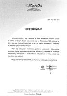 Referencja od firmy Stokrotka Sp. z o. o.