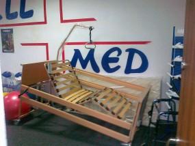 Łóżko rehabilitacyjne, medyczne - ALLMED sklep i wypożyczalnia sprzętu rehabilitacyjnego i medycznego Pabianice