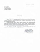 Referencja od firmy Leszek Wójcik