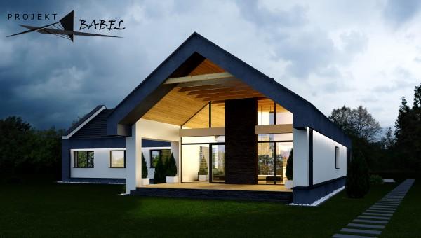 projekty dom w nowoczesnych krak w tarn w i nowy s cz. Black Bedroom Furniture Sets. Home Design Ideas