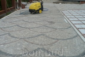 Układanie kostki granitowej - Usługi budowlane i brukarskie DAN-BUD Brodnica
