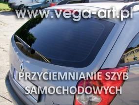 Profesjonalne przyciemnianie szyb samochodowych - Vega-Art Studio Reklamy i Druku Gdynia