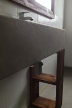 Mikrocement we wnętrzach - ANTEK - kompleksowe remonty, mikrocement, schody drewniane Poznań
