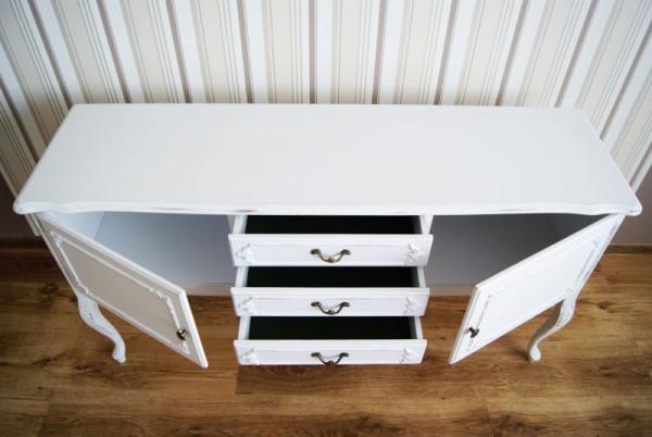Meble Ogrodowe Drewniane Renowacja : Meble bielone Meble postarzane  Stalowa Wola Pracownia EMBE Renowacja