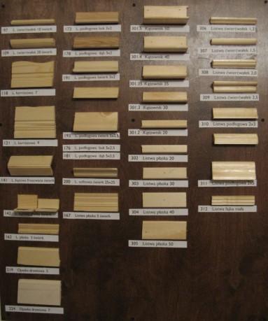 Drewniane listwy ozdobne allegro