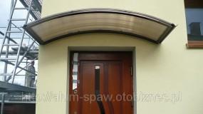 Daszek nad drzwi - ALUM-SPAW Będzin
