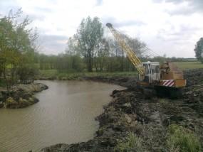 kopanie stawu - Usługi koparką Mirosław Grzesiak Busko-Zdrój