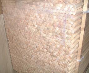 drążki drewniane do mioteł, łopat, flag, parawanów, itp. - P.P.U.H. TRANS-DREW - Karnisze drewniane Maków Podhalański