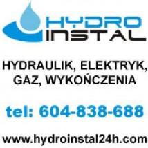 Hydraulik, Elektryk, Gaz Całodobowo tel: 604838688 - Hydro-Instal Kocmyrzów