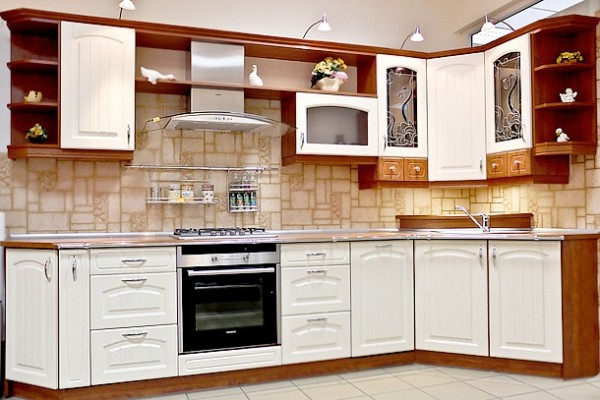 kuchnia klasyczna wanilia meble kuchenne szczecin koszalin i stargard. Black Bedroom Furniture Sets. Home Design Ideas