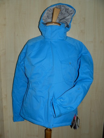 Kurtka narciarska damska Pulse W 10.000 Salomon niebieski