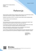 Referencja od firmy Wojciech Bociarski Instalacje Sanitarne