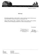 Referencja od firmy IBRAS