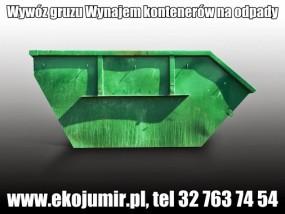 Wywóz odpadów Wynajem kontenerów na odpadu - Eko - Jumir Sp. z o. o. -Transport odpadów, Utylizacja odpadów, Odzysk odpadów Czeladź