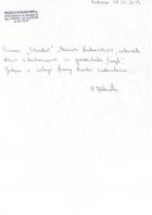 Referencja od firmy Przedszkole Publiczne w Młochowie