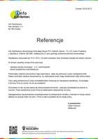 Referencja od firmy Info Distributions