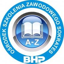SZKOLENIE BHP DLA SŁUŻB BHP 155 ZŁ - Ośrodek Szkolenia Zawodowego  Sokrates  Zabrze